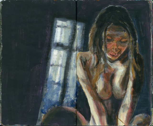 Nude with Window
